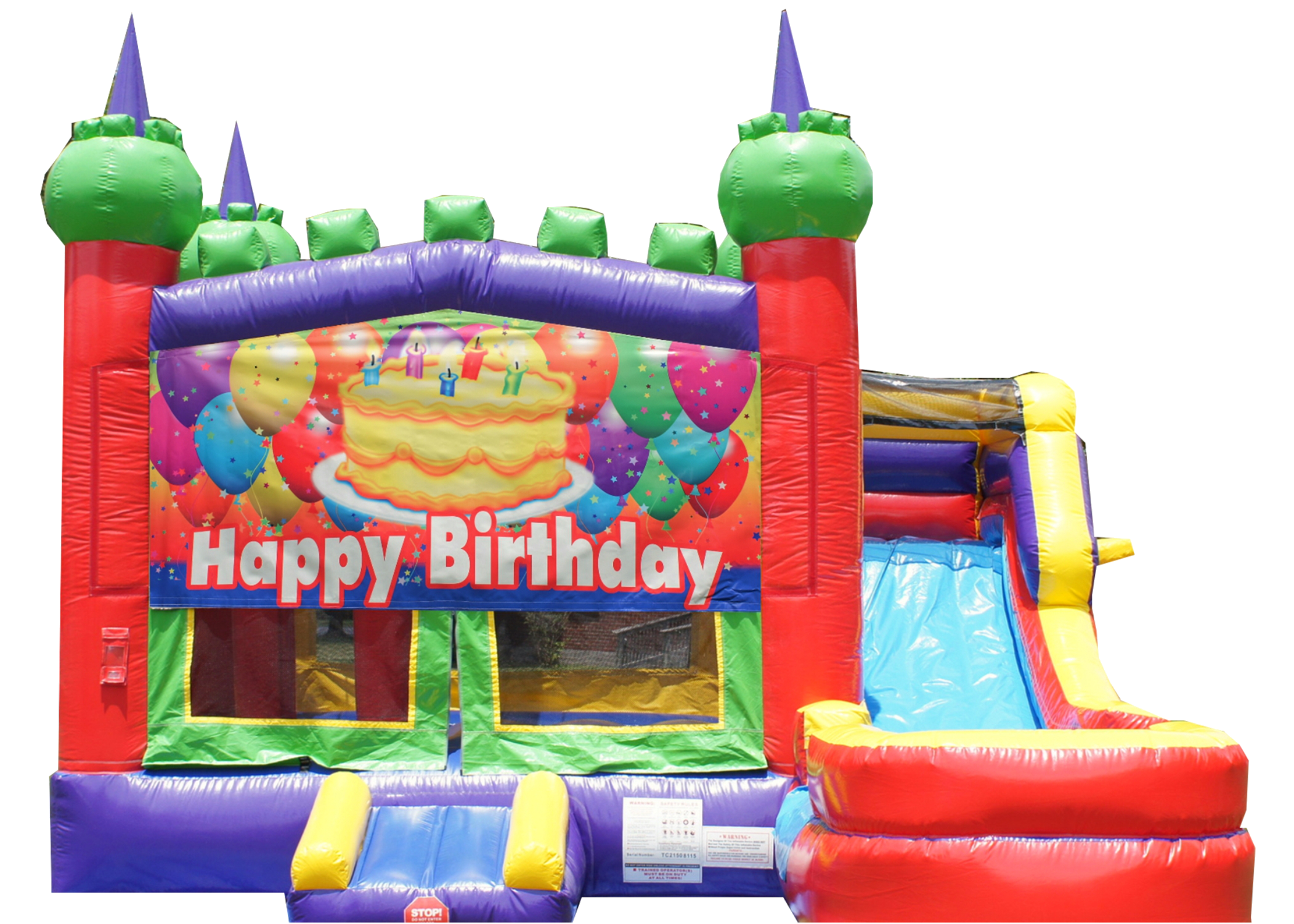 Inflatable Combo bounce house rentals Nashville Tn Jumping Hearts Party Rentals