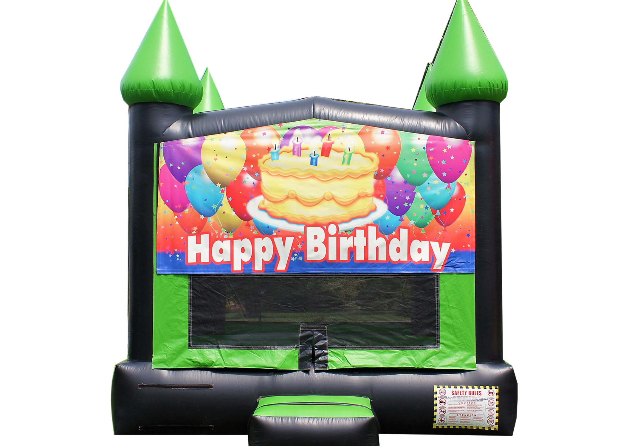 Happy b-day bounce house Nashville