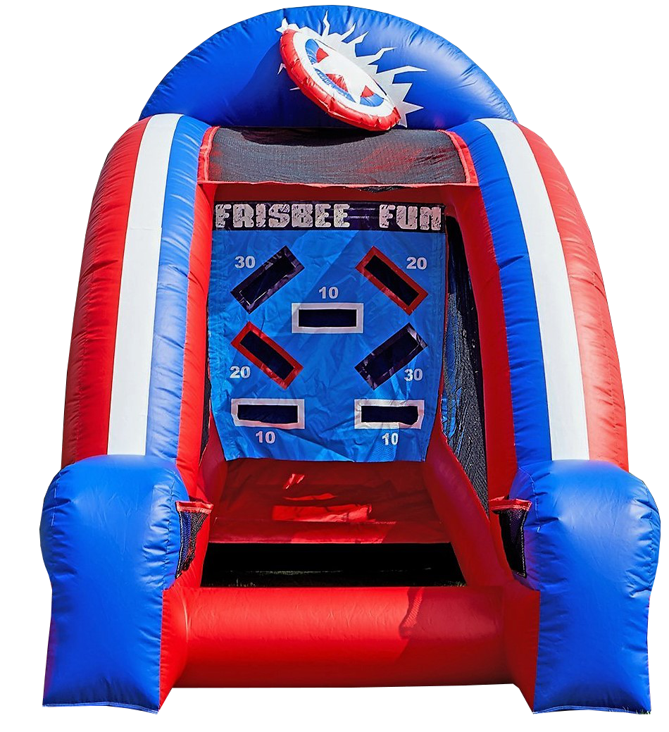 inflatable Frisbee interactive game rentals Murfreesboro