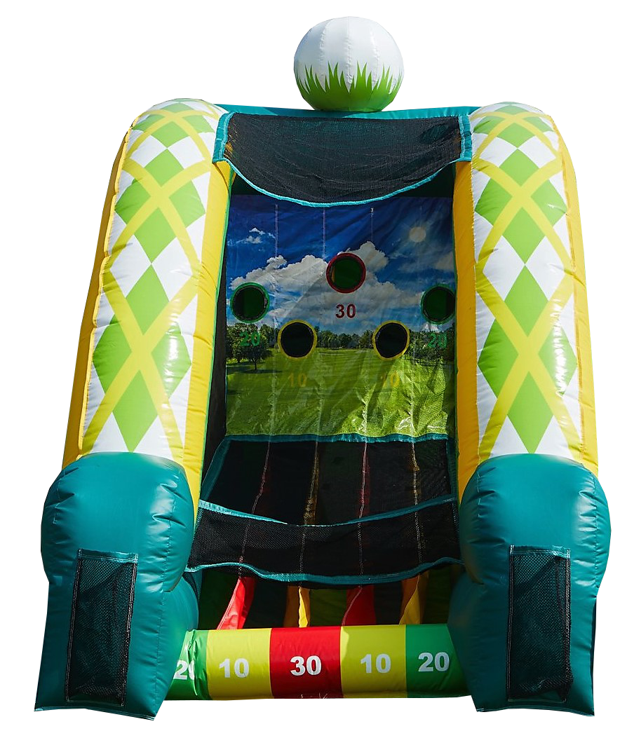 Interactive inflatable golf game rentals Murfreesboro