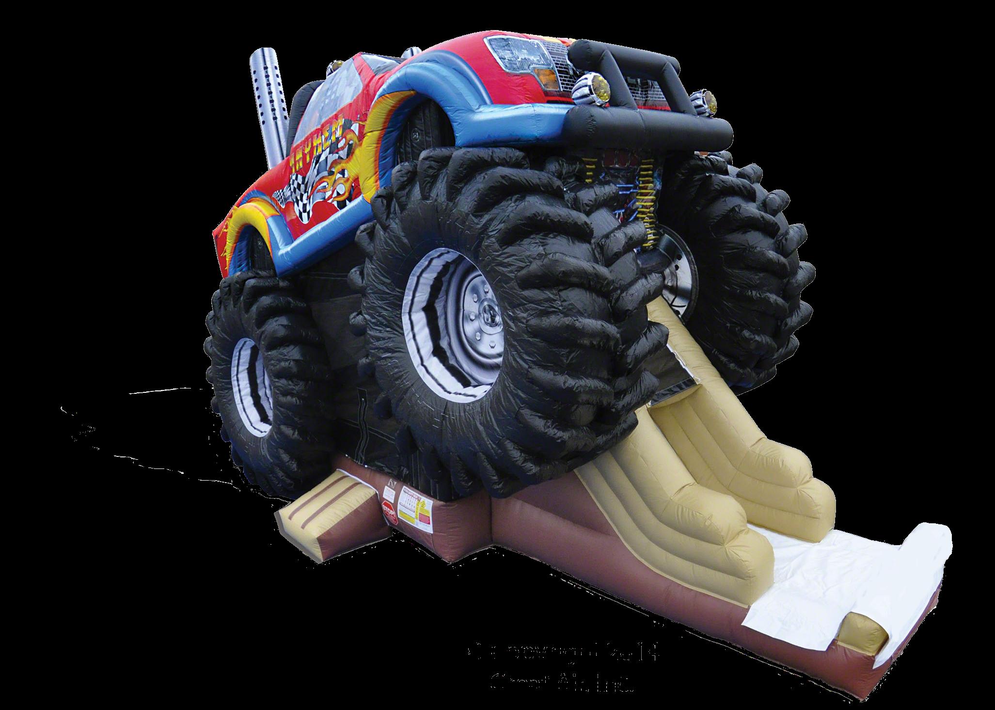 Monster truck slide rentals Murfreesboro