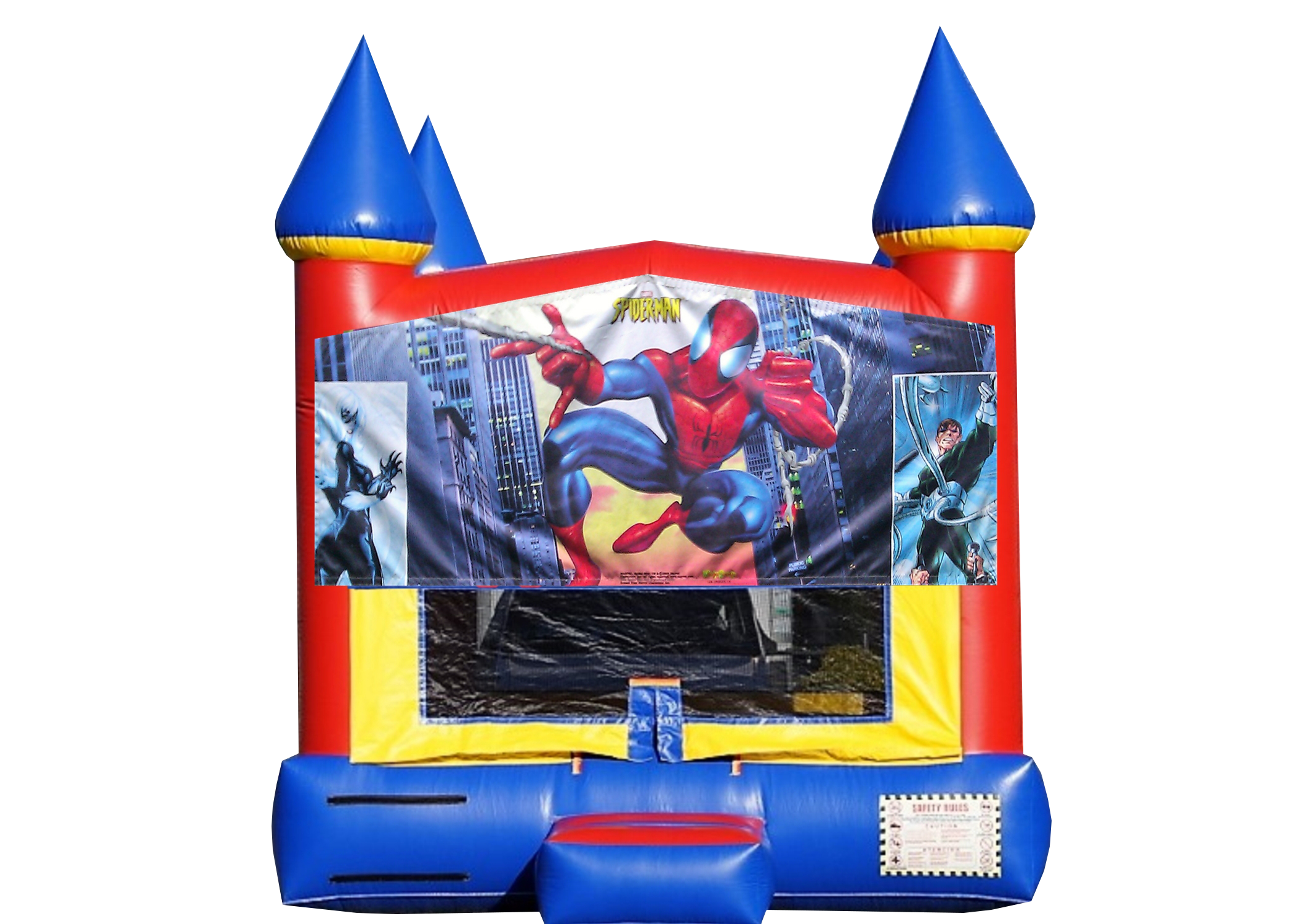 Spiderman bounce House Nashville