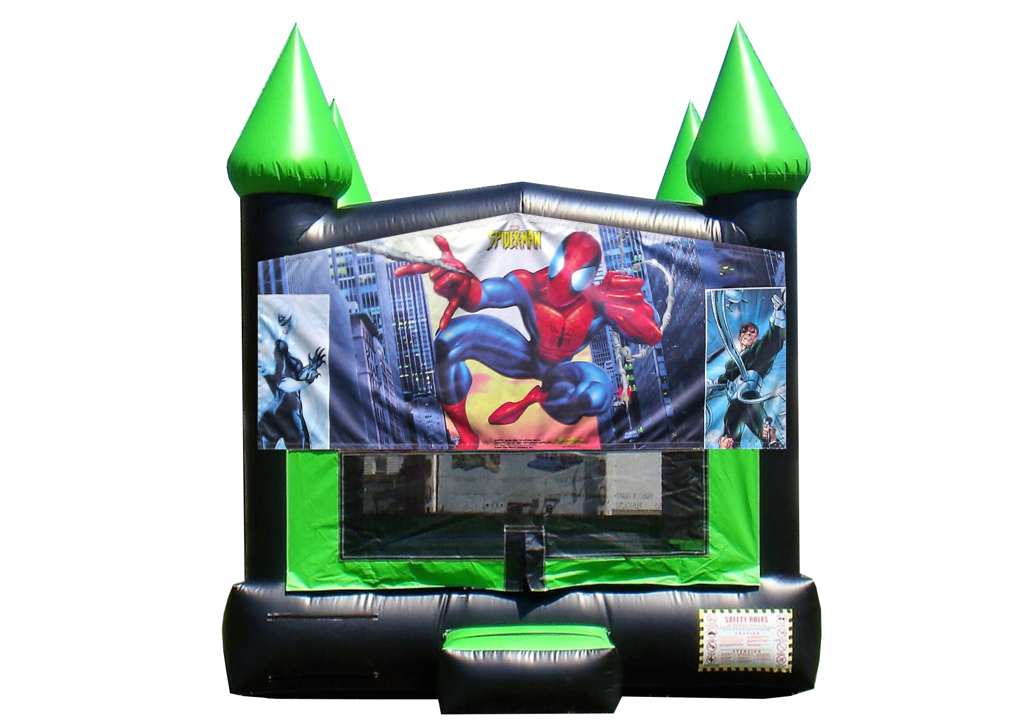 Spider-man bounce house Nashville