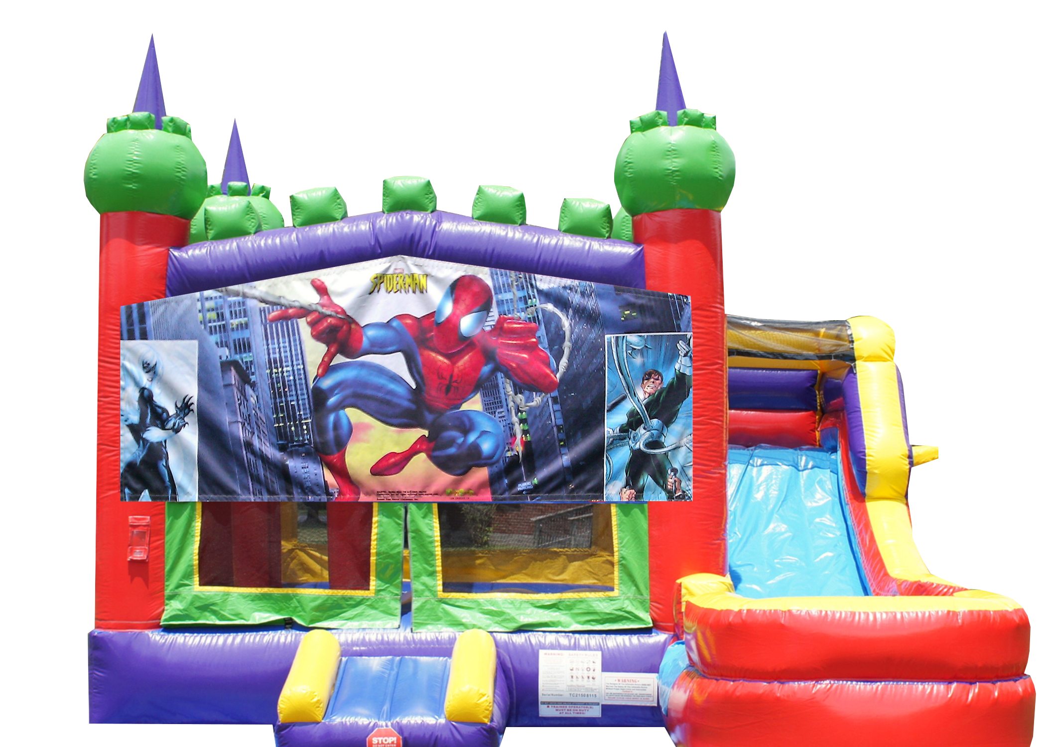 Spider-man combo bounce house Nashville