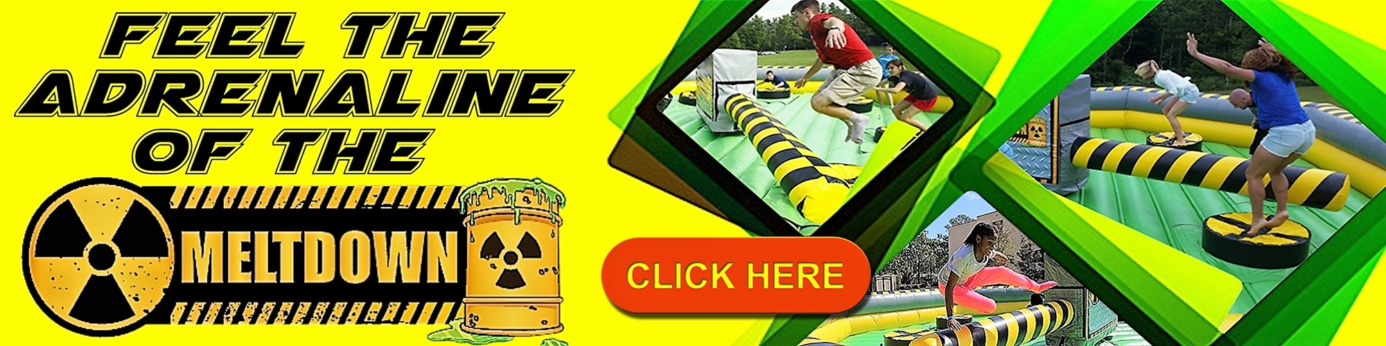 Toxic Meltdown game rentals Nashville Tn / mechanical ride rentals Nashville Tn / Jumping Hearts Party Rentals La Vergne Tn