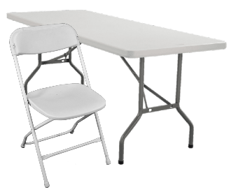 Table and chairs rentals Nashville