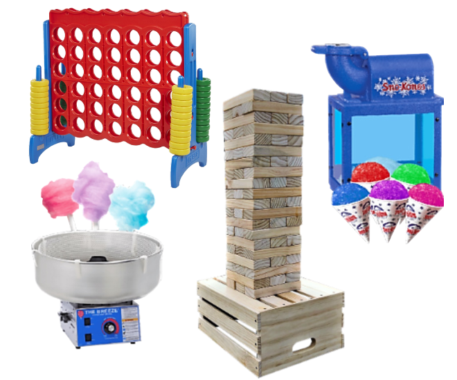 Nashville concession machine rentals and carnival game rentals Nashville