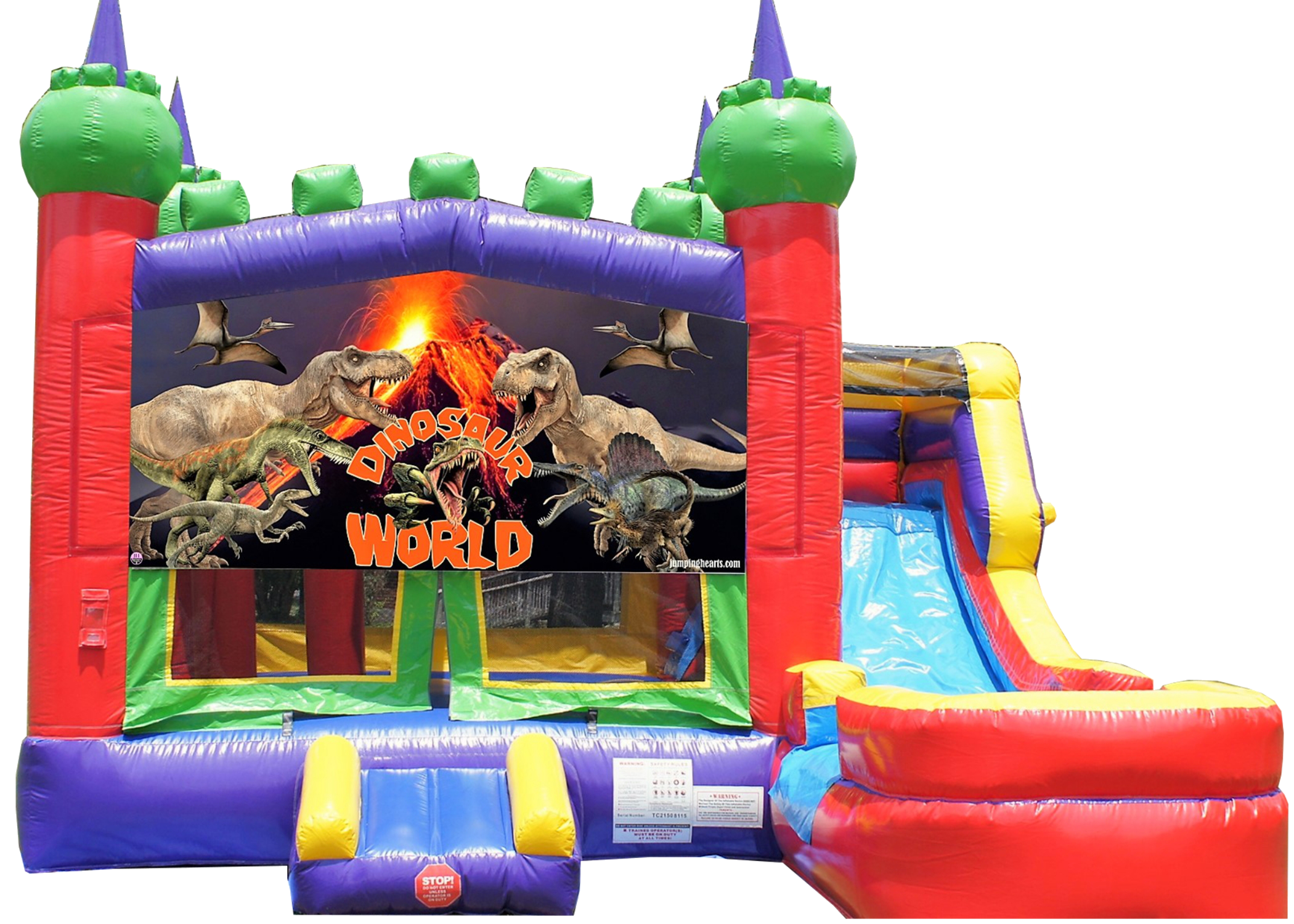 Murfreesboro dinosaur bounce house combo