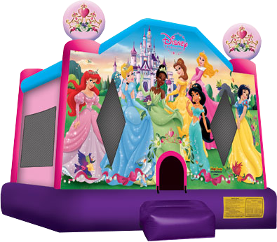 Disney princess bounce house rentals Nashville | Jumping Hearts Party Rentals