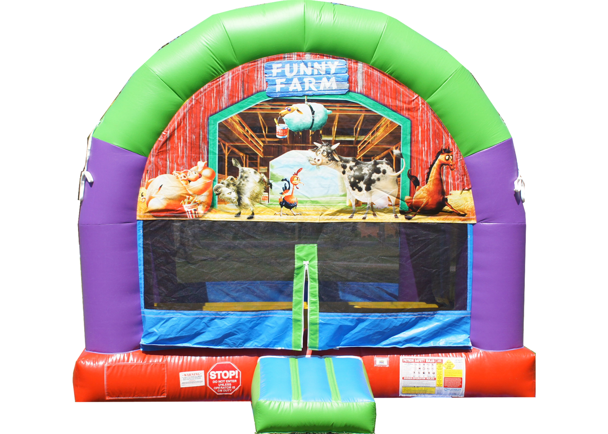 farm bounce house Nashville