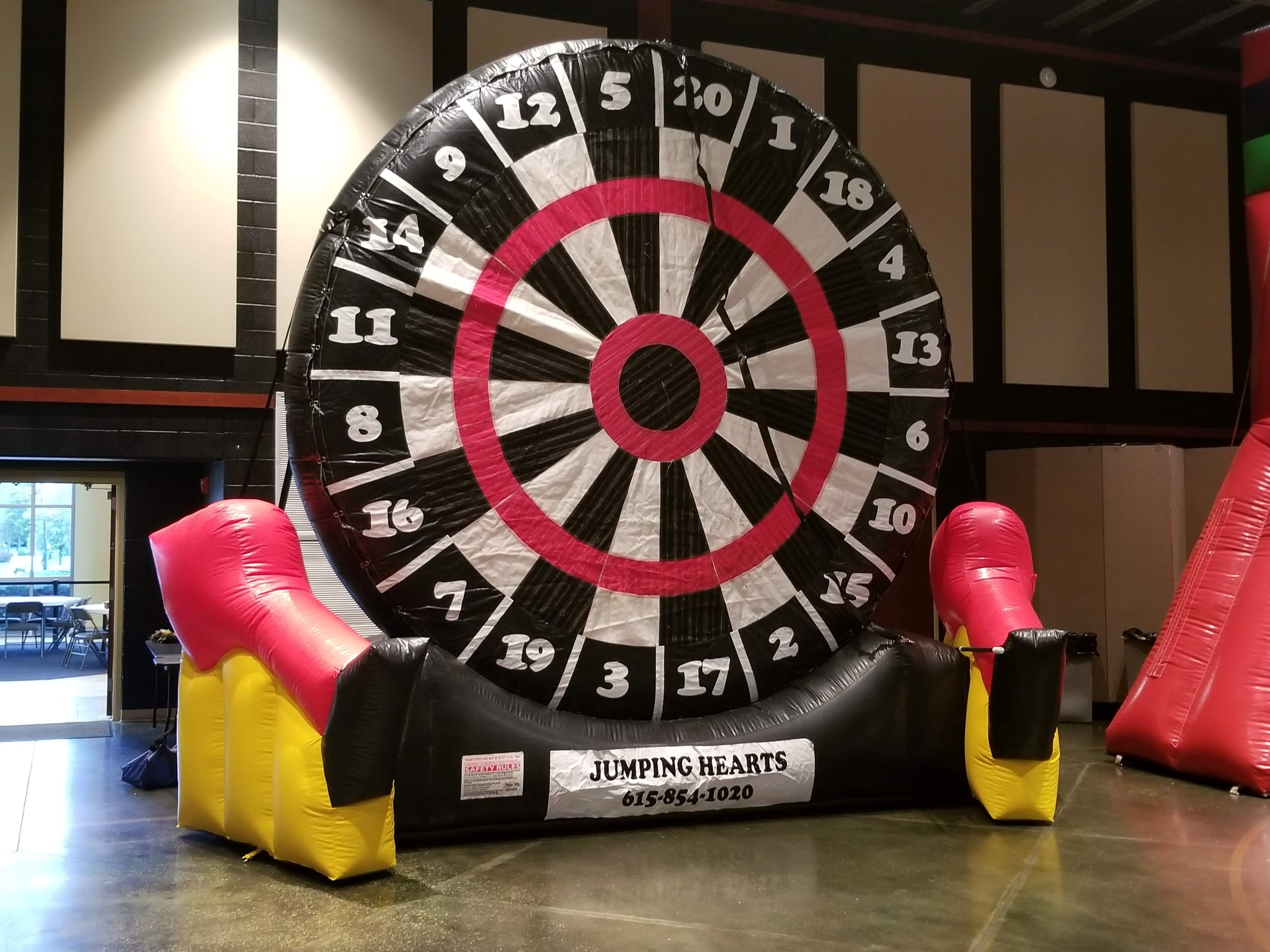 Giant soccer darts game rentals