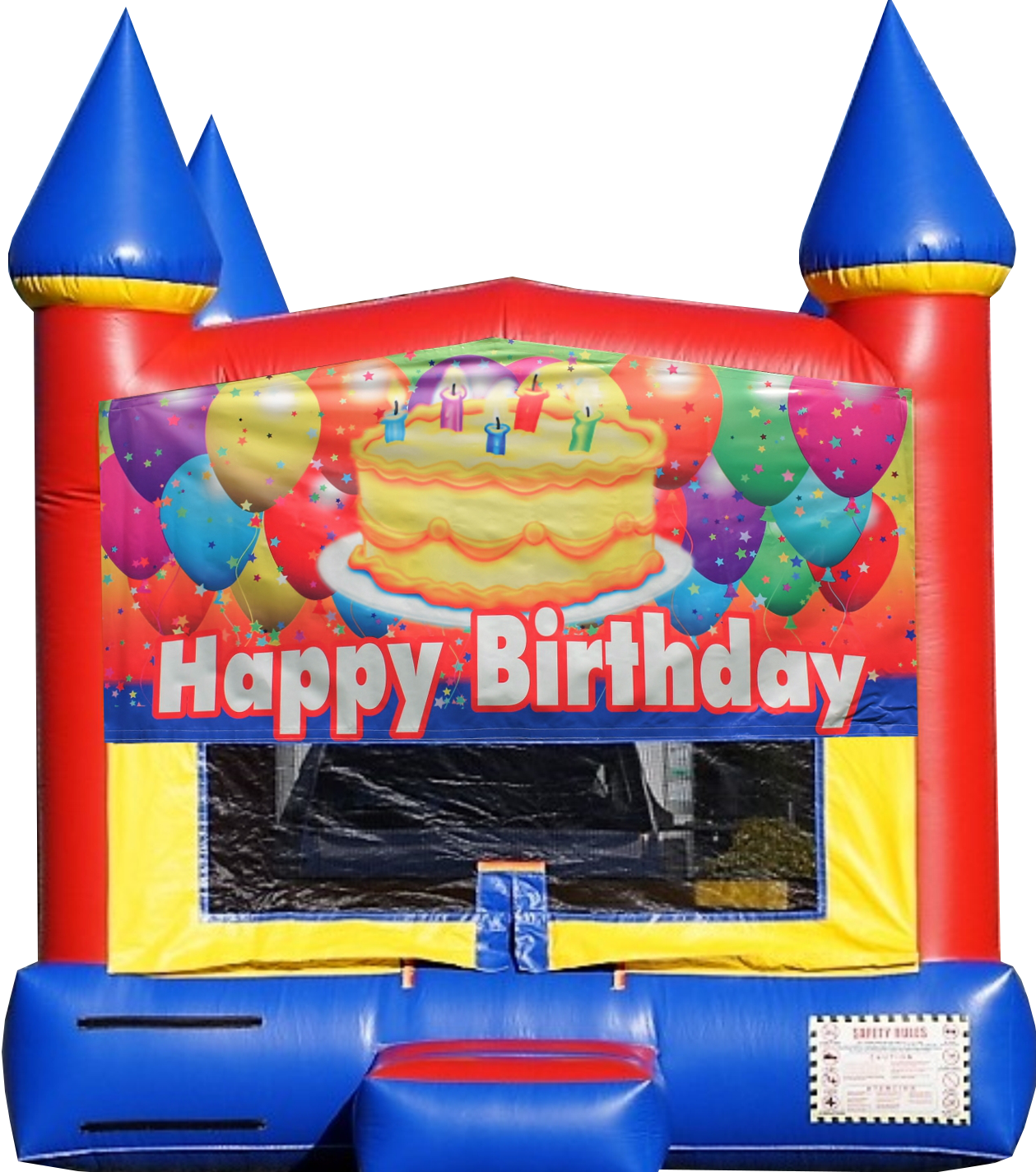 Happy birthday bounce house rental Murfreesboro