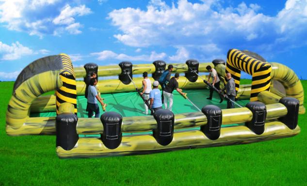 Inflatable human foosball game rentals Murfreesboro