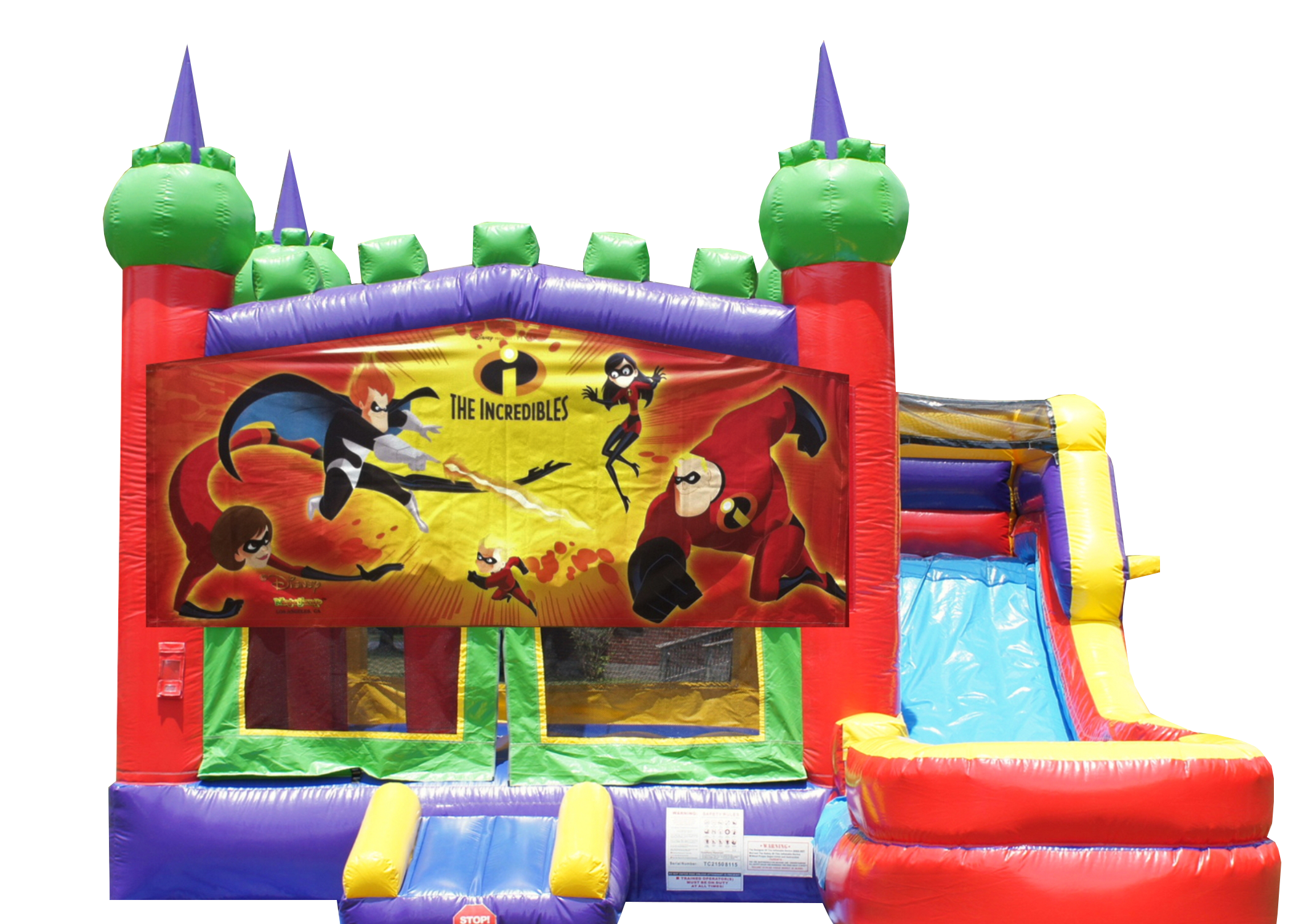 The incredibles combo bounce house rentals Murfreesboro