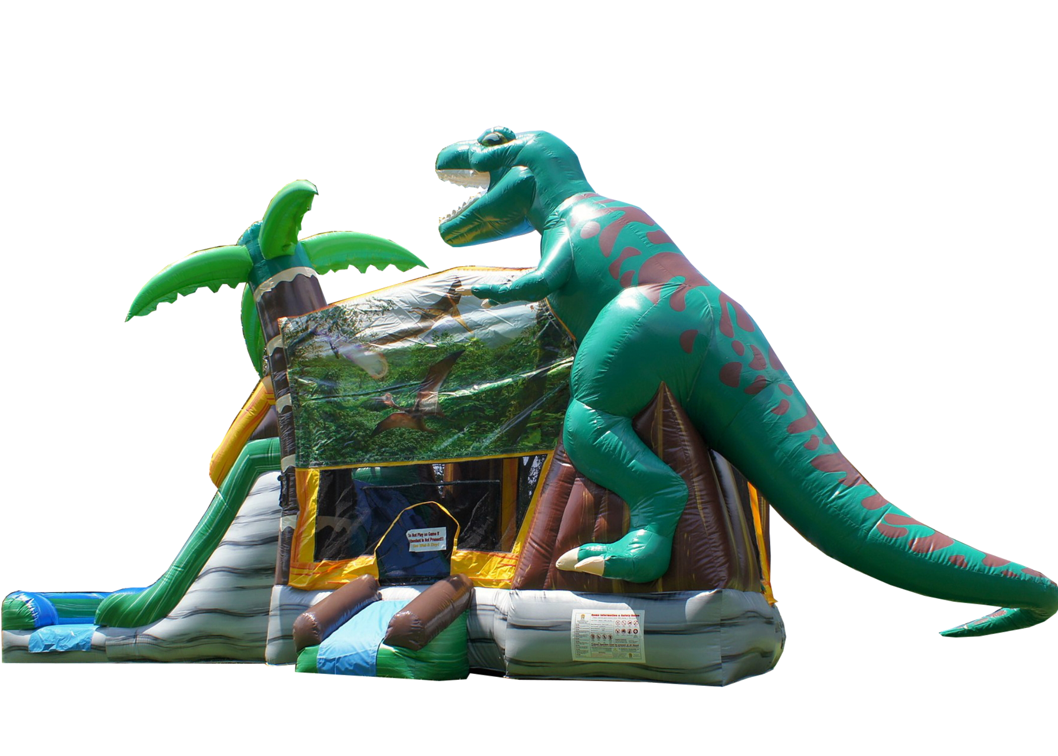 Dinosaur bounce house Nashville TN