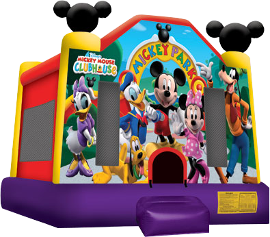 Mickey Mouse bounse House Nashville