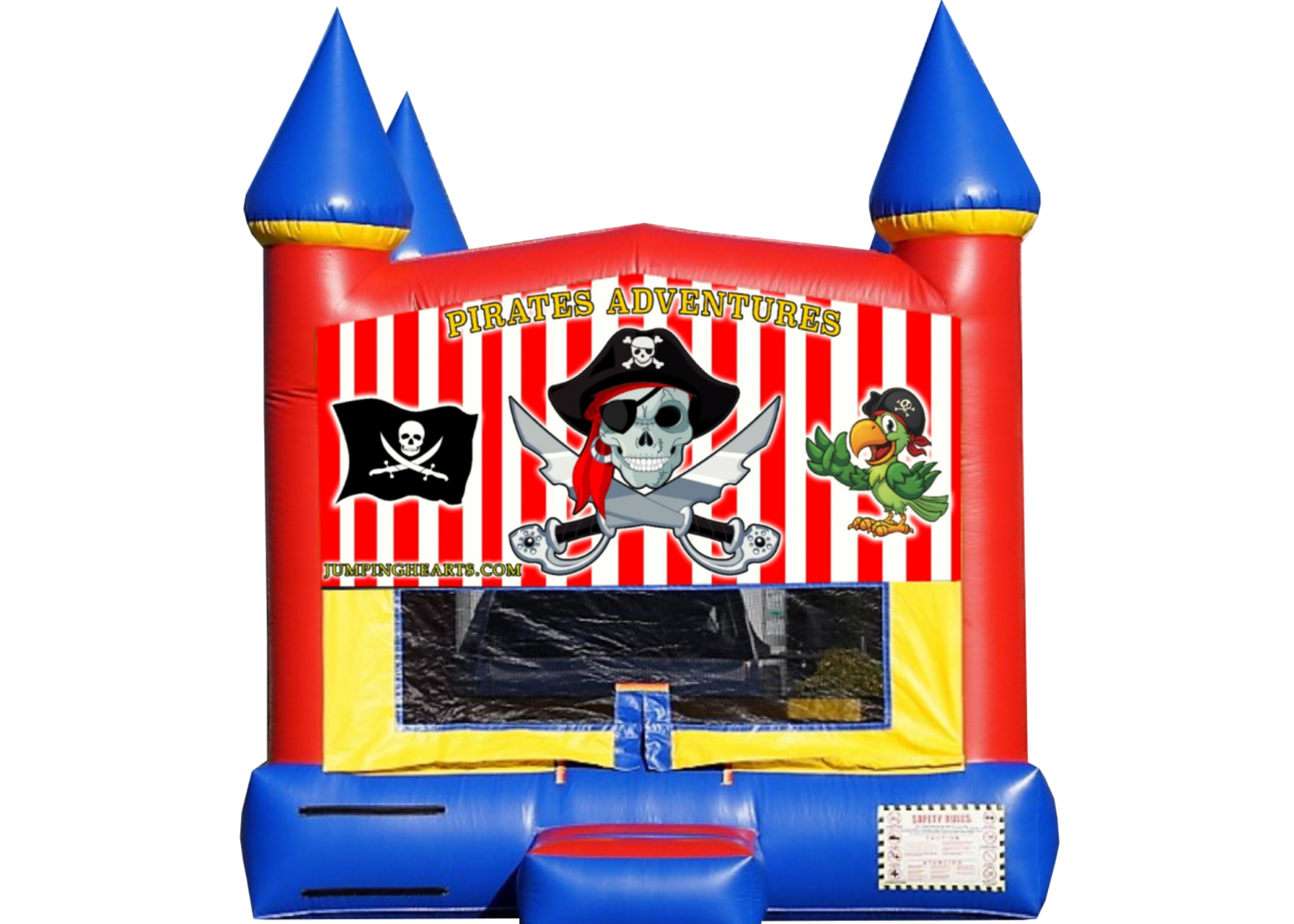 pirates bounce house Nashville