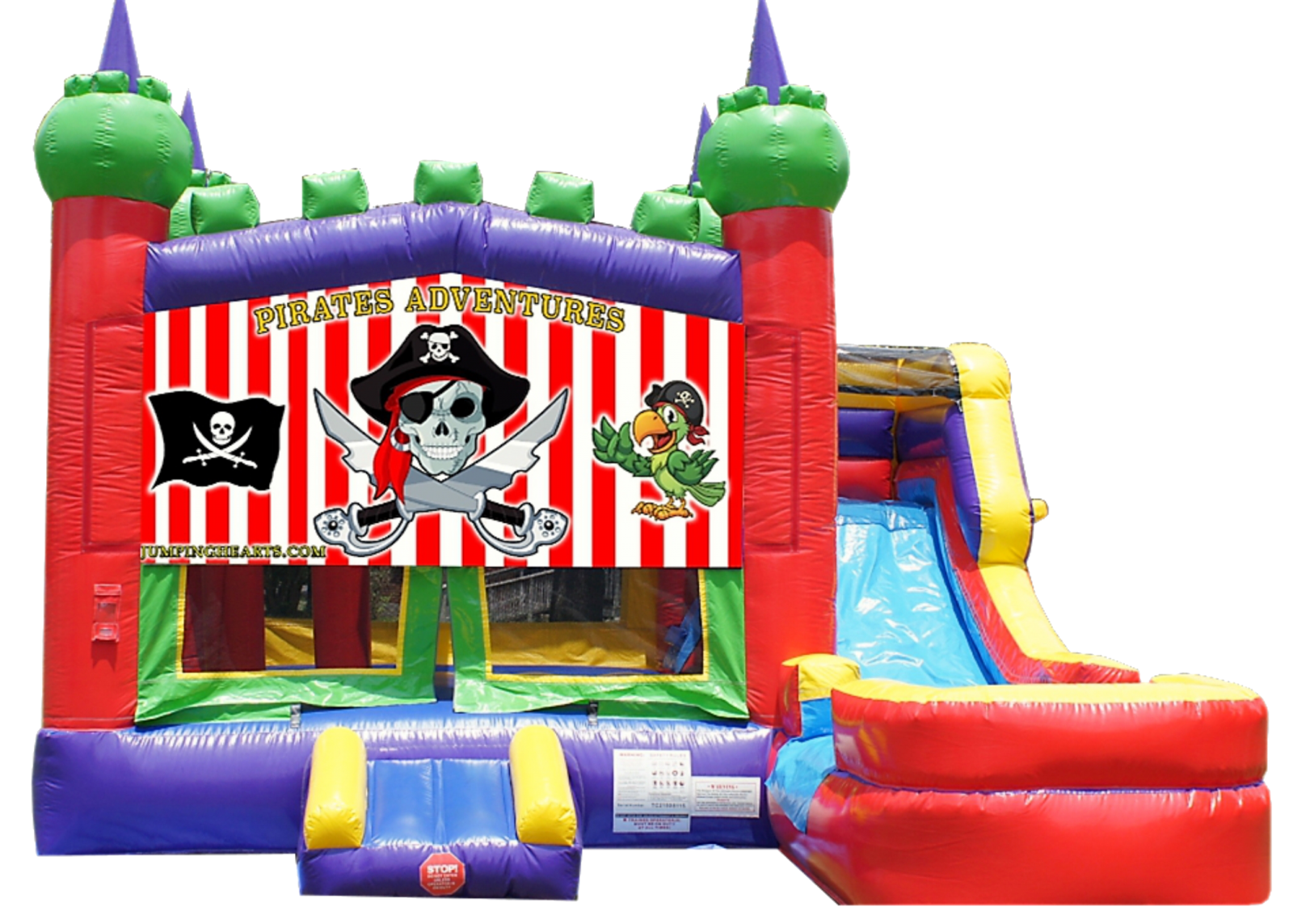Pirate Bounce House Rentals Nashville | Jumping Hearts Party Rentals