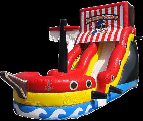 pirate ship waterslide rentals Murfreesboro