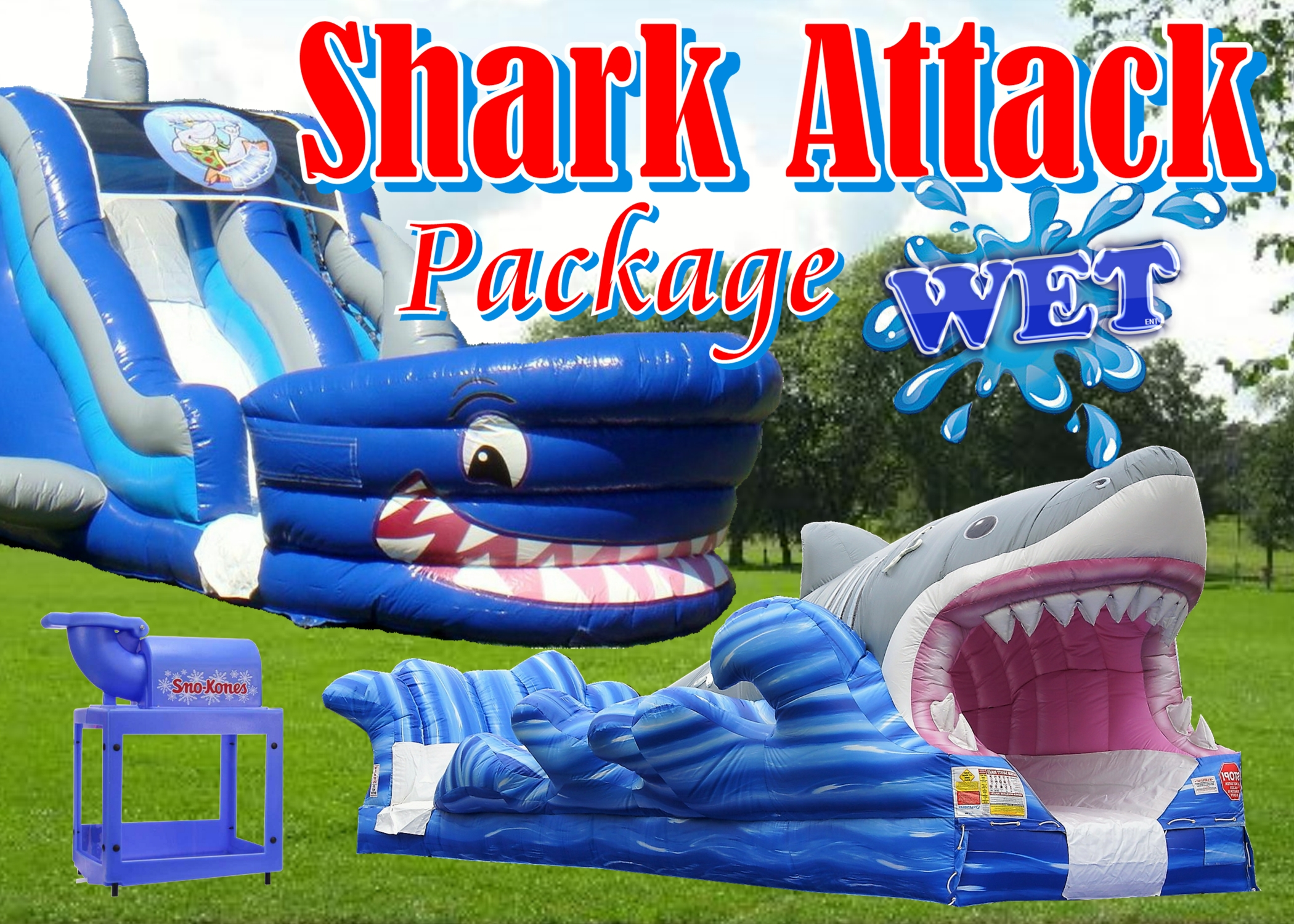 water slide package rentals for rent