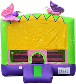 butterflies toddler bounce house rentals Murfreesboro