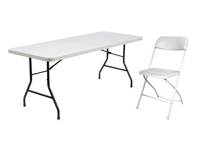 Nashville Table and chairs rentals