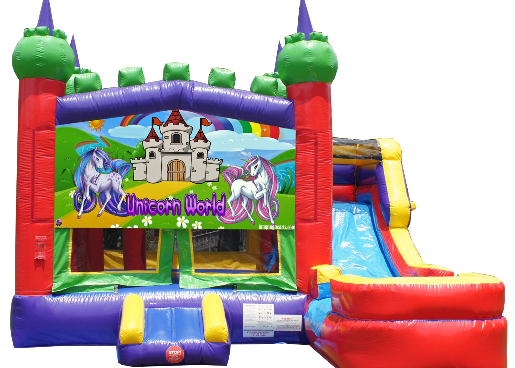 Unicorn combo bounce house rentals Murfreesboro