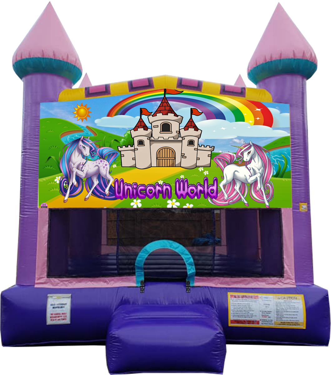 Unicorn Bouncy Castle Nashville
