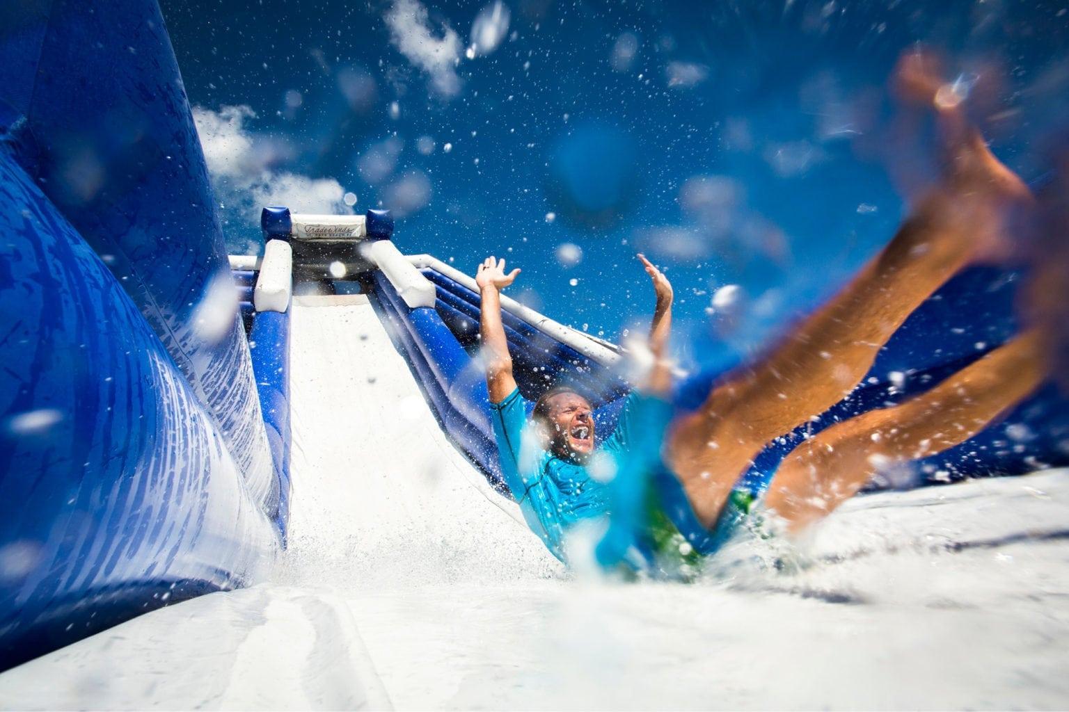 inflatable waterslide rentals in Murfreesboro