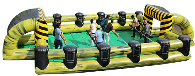 inflatable Human Foosball Rentals Nashville
