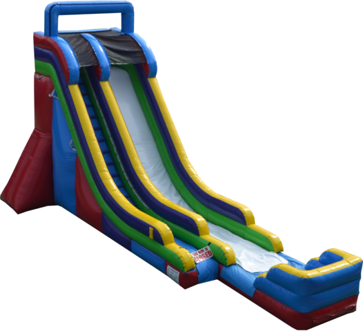 22' Single Lane Inflatable Slide (DRY)