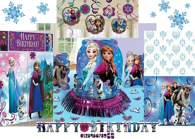 Frozen Decoration Package