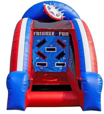 Inflatable Frisbee Game