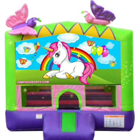 Baby Unicorn Bounce House