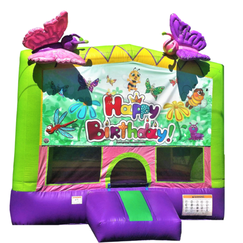 Butterflies and Friends Bounce House