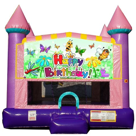 Flowers and Friends Bounce House