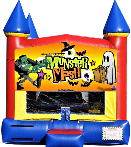 Monster Mash Halloween Bounce House