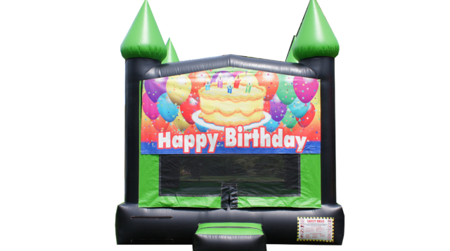 Happy Birthday Bounce house 2