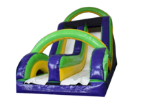 "<strong><span style=""color:#0000ff;"">16ft Radical Double Slide </span>"