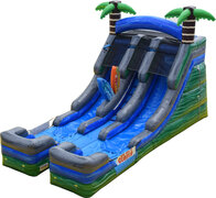 16ft Double Lane Tropical Slide***Now Available***