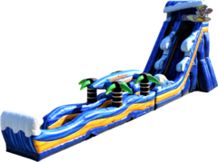 25ft Californian Wave Water Slide***Exclusive Jumping Hearts Design***