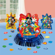 "<strong><span style=""color:#0000ff;"">Disney Mickey Mouse Table Decorating Kit"