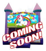 "<strong><span style=""color:#0000ff;"">Baby unicorn bounce house 2"
