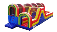 "<strong><span style=""color:#0000ff;"">Hop N Rock Obstacle Course"