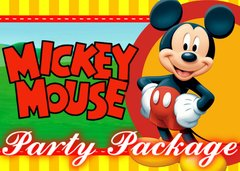 "<strong><span style=""color:#0000ff;"">Mickey Party Package"
