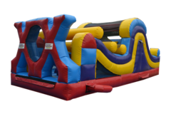 "<strong><span style=""color:#0000ff;"">25ft Mini X Obstacle Course"