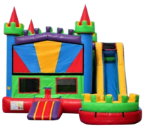 Royal Combo Bounce House(Wet)