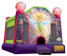 "<strong><span style=""color:#0000ff;"">Tinkerbell Bounce House"