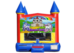 "<strong><span style=""color:#0000ff;"">Unicorn Bounce House"
