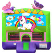 "<strong><span style=""color:#0000ff;"">Baby Unicorn Bounce House"